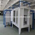 equipamentos de pintura eletrostática pó revestimento spray sala com sistema de controle elétrico
