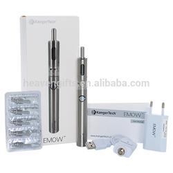 100% original kangertech emow 1300mah vv battery and 1.8ml kanger areotank mow atomizer for Kanger EMOW kit