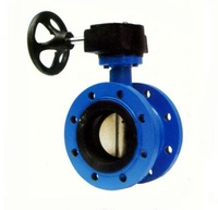D341X Rubber Lined Flange Butterfly Valve