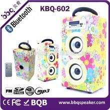 Nature Speaker long Range 10W Back hole Wireless woofer Speaker In shenzhen Factory Wholesale Bluetooth speaker