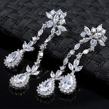 Wholesale fashion jewelry vintage flower style wholesale rhinestone earrings fashion earring designs new model earrings