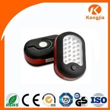 Mini Pocket 24 + 3 LED Light Working Led Flashlight Crank Radio USB with Hook