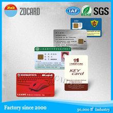 Hot selling custom contact ic card 1kb memory