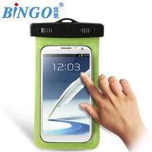 Waterproof Case Cover Dustproof PVC Mobile Phone Casing