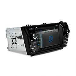 New CASKA fm radio car dvd player for Toyota corolla 2014 GPS navigation bluetooth radio free Sygic Map CA281-UQ8