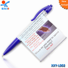 latest products in market cheap banner pens with custom logo