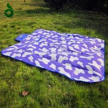 Printed Fleece Blanket, Portable Travel Blanket, foldable Picnic Blanket