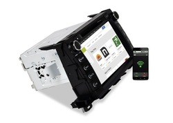 [ caska ] 2014 NEW 2Din 7 inchs car dvd Touch screen DVD/MP3/CD FREE UPDATE Sygic MAP CA349-UQA for Toyota Highla