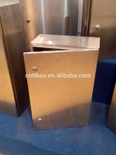 2015 Popular Waterproof outdoor Stainless Steel Enclosures/stainless steel base case