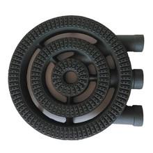 Cast iron gas burner parts