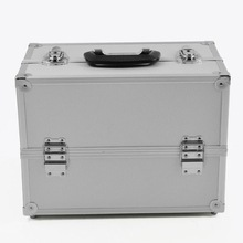 Aluminum Train Small PVC Case with Lock and Key