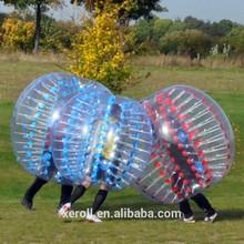 2015 hot sale inflatable bubble football