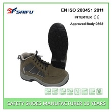 SF8605 high heel steel toe shoes industrial boots