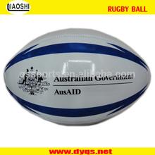 cheap price PU custom rugby ball