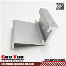 6063 T5 Silver Electrophoresis Aluminum Profile Manufacturer