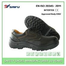 Barton buffalo leather SF8138 low cut black ranger safety shoes