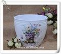 exterior cerâmica flor vasos de plantas