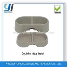 customed plastic dog water bowls and food bowls