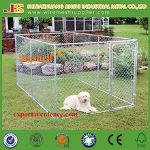 7.5x13x6ft Large outdoor galvanised chain link dog kennels & dog cages & dog runs