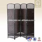 170*40 4 panels Eco-friendly Antique Cheap wooden partitions design living room
