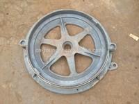 En 124 A15,B125 ,C250, D400 Round Ductile Iron Cemen Manhole Cover