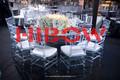 mesa de acrílico cristal silla de chiavari sillas para la venta