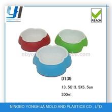 plastic pet bowls, water bowls and food bowls