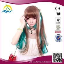 Quality Guaranteed High Temperature Fiber Europe Lolita Cosplay Fashion Wig