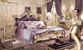 Bd-1510 novo design cama bouble fotos de madeira cama de casal