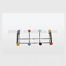 Various and popular designs over door hook hanger with plactics balls