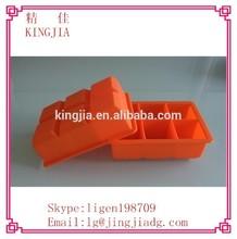 Favorites compare 6(six)-square soft silicone ice cube tray,silicone ice cream mold,silicone ice pop mold