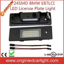 Car Accessory Super Bright 24 SMD For BMW E87LCI E81 E87N E63LCI E46LCI E89 F20 F12 F13 Led License Plate Lights