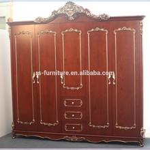 guangzhou Hot sale bedroom Five doors Wardrobe with good price