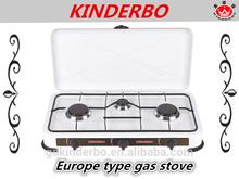 Europe gas stove spray coating gas stove 3 burner gas stove