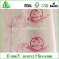 Impresión personalizada todo tipo de papel transparente de envasado de alimentos