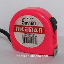 Strong blade circular tape measure