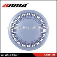 Set of 4 Brand New Clear Coat Finish plastic wheel hub cover