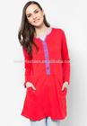 Alibaba Wholesale Clothing Ladies Islamic clothing Casual Muslim blouse women S5030
