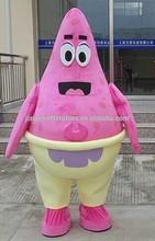 sponge bob and patrick star mascot costume