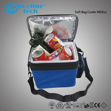 Insulated aluminium foil fitness wine bottle picnic basket lunch cooler bag