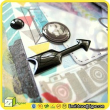 ES001054,epoxy sticker car,epoxy sticker dots
