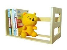 2015 hot selling FSC&SA8000 natural solid wood book stander,file holderwith manufactured sale