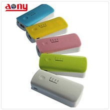high-performance new design hot sale super quality low cost free logo portable power bank with LED lighting