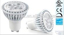 Enregry Star UL CUL led GU10 6W 450 lumens 60w halogen dimmable 120V spotlight