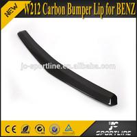 09-12 E Class W212 Carbon Bumper Lip for Mercedes Benz E200 E260 E300