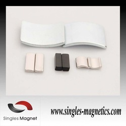 NdFeB Magnet Composite and Permanent,neodymium arc segment magnets Type strong powerful arc segment magnets