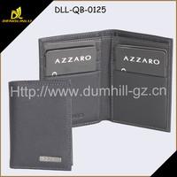 Genuine leather brand men wallet design short wallet purse