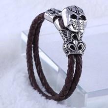 professional jewelry factory wholesale leather bracelet kit