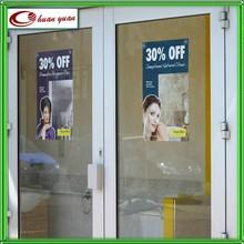 glass ,window static cling film digital printing decal