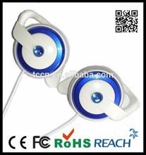 Stereo hot selling earhook earphones for sport